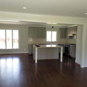 Ubaldo Construction Kitchen Project Photo with Hardwood Flooring