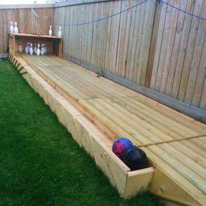Ubaldo Construction Creates Outdoor Bowling Alley