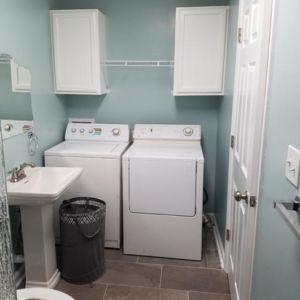 Ubaldo Construction Bathroom and Laundry Room Renovation Project