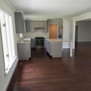 Custom Kitchen Flooring by Ubaldo Construction