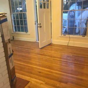 Hardwood Flooring Refinishing Project by Ubaldo Construction