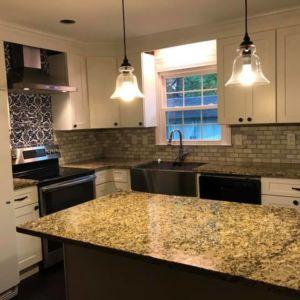Custom kitchen renovation - Ubaldo Construction