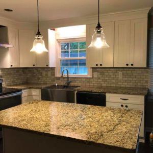Custom kitchen renovation by Ubaldo Construction