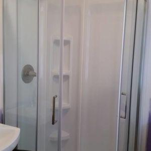 Ubaldo Construction custom shower and master bath renovation