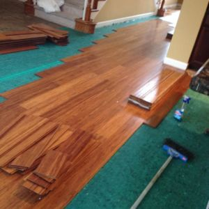 Ubaldo Construction custom flooring installation